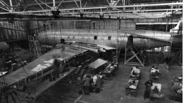 De Havilland Comet zátěžové testy