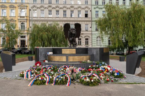 Okridleny lev Praha 2019