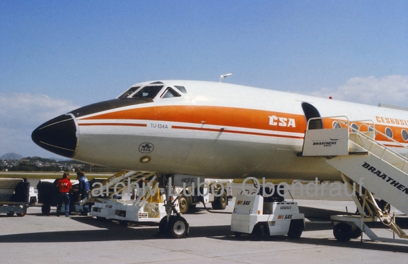 Tupolev Tu 134A ČSA