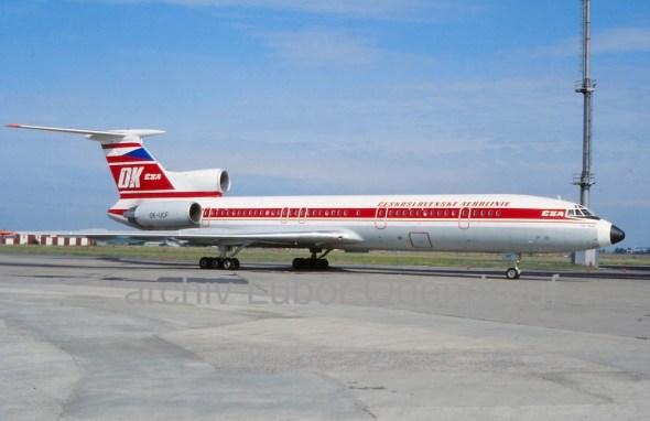 Tupolev Tu 154 ČSA