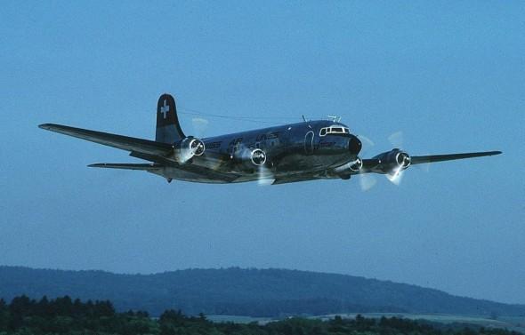 Douglas DC4 Praha
