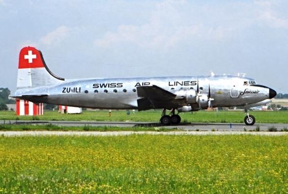 Douglas DC4 Praha Ruzyně
