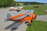 WACO YKS-6 letiště Točná