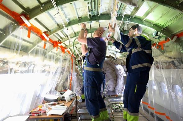 CSAT Finnair rozvody nové kabeláže