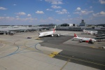 LKPR letiště Praha Ruzyně stojánka