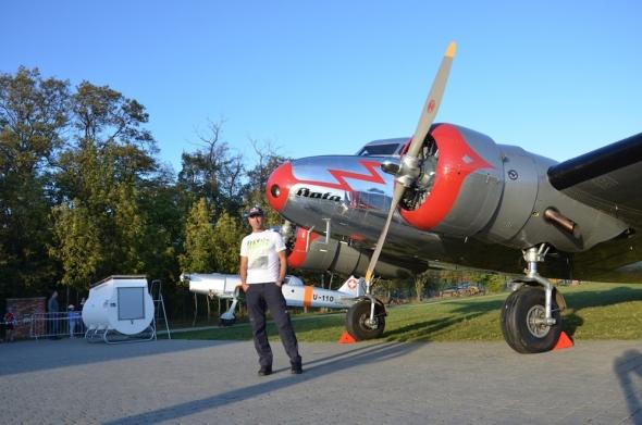 Lockheed Electra L10A a Martin Šonka