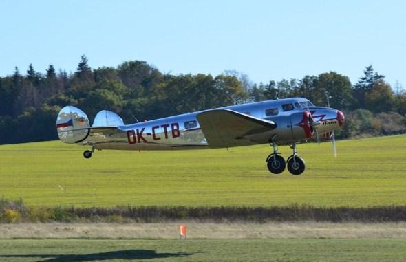Lockheed Electra L10A vzlet
