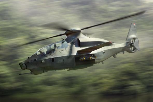 vrtulník Bell 360 Invictus