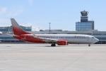 Boeing 737 Rossiya Airlines letiště Praha Ruzyně