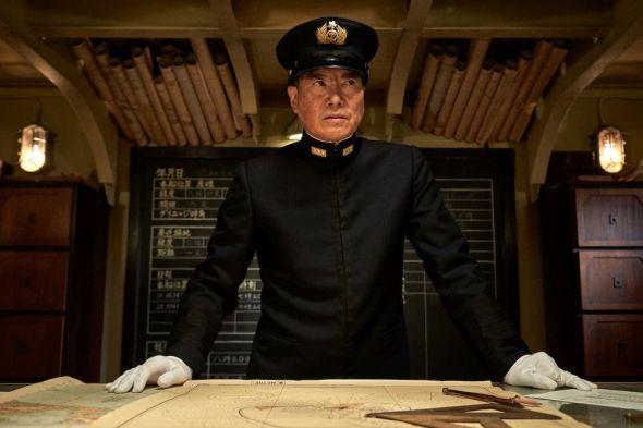 Etsushi Toyokawa stars as 'Admiral Yamamoto' in MIDWAY.