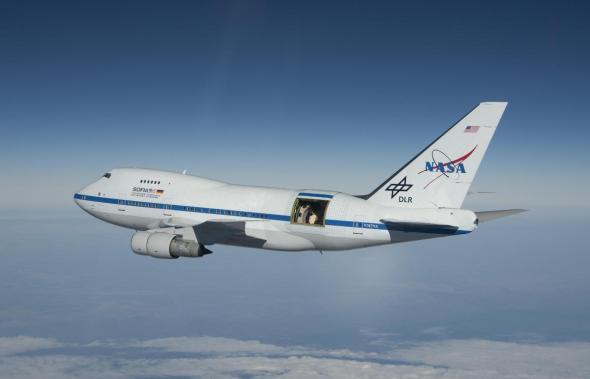 Boeing B 747SP SOFIA foto NASA