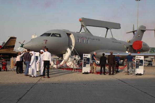 Dubai 2019 UAE AWACS