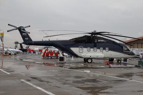 Dubai 2019 vrtulník Mil Mi 38