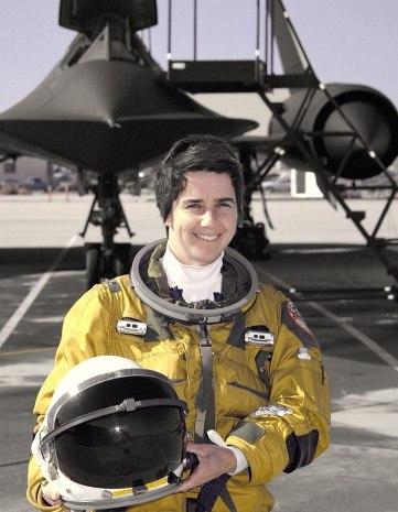 Marta Bohn-Meyer pilotka Blackbird
