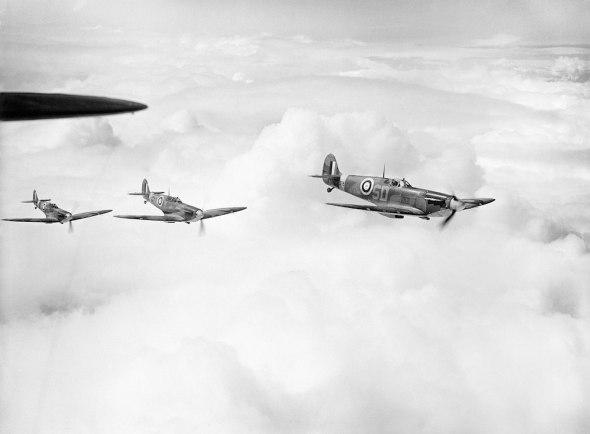 Spitfire 501 skvadrona RAF