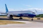 Boeing 777X pojíždění