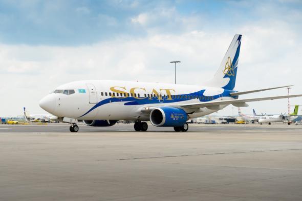 SCAT Airlines - Prague