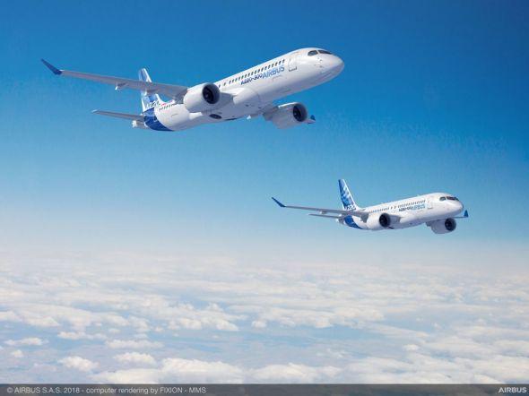 Airbus A220-100-A220-300