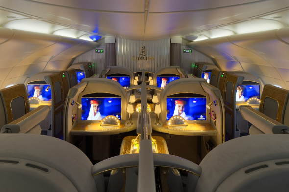 Airbus A380 First Class Emirates