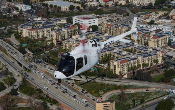 vrtulník Bell 505