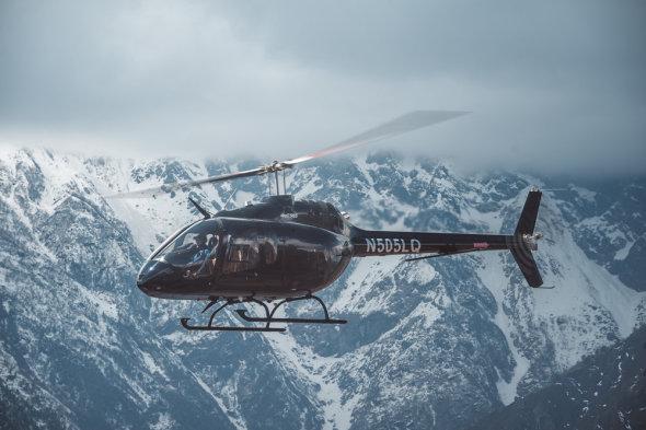 vrtulník Bell 505 Nepal