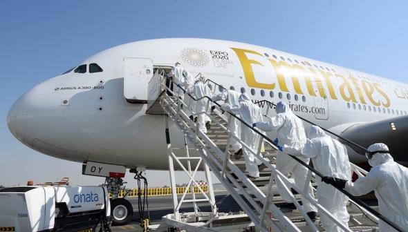 Emirates A380 COVID-19
