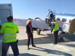 transport masek letiště Brno Lockheed