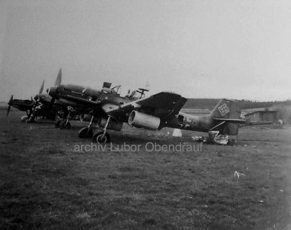 skupina Junkersů Ju 87 Žatec
