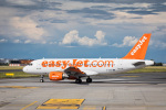 Prague Airport easyJet Airbus A319