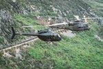 Vrtulník Bell Černá Hora