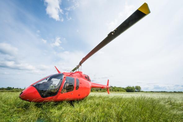 vrtulník Bell 505 Jet Ranger