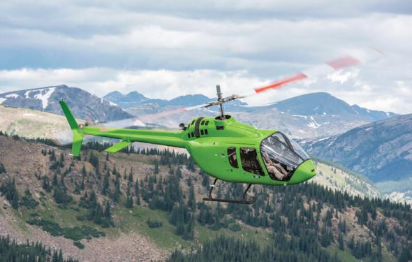 vrtulník Bell 505 Jet X Ranger