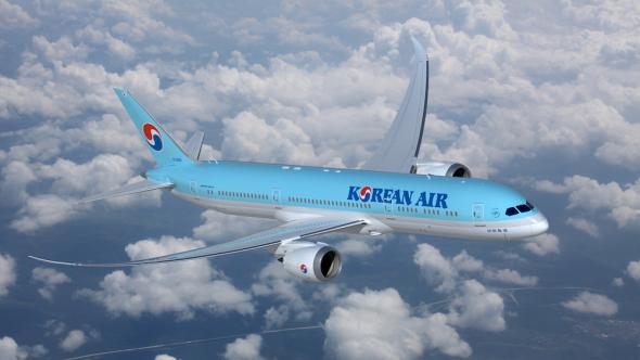Korean Air Boeing 787 Dreamliner