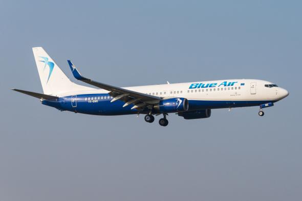 Boeing 737-800 Blue Air