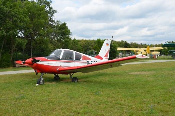 Socata GY-80 Horizon letiště Točná