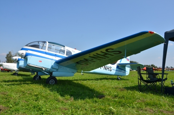 Aero Ae 45 slet československých letadel Jihlava 2020