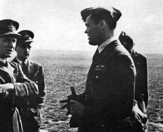 Josef Ocelka a Karel Janoušek RAF