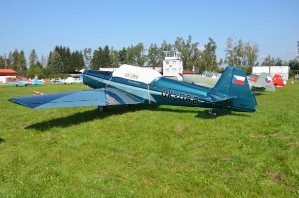 Zlín Z 526 OK DRB slet československých letadel Jihlava 2020