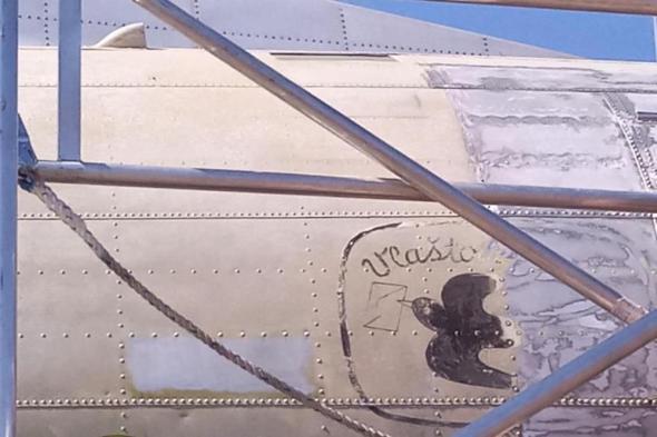 Avia Av-14 detail na původním zbarvení