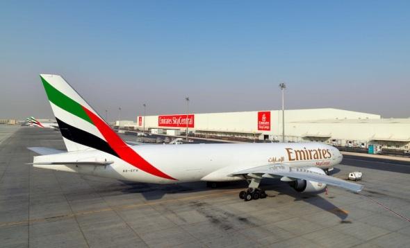 Boeing 777F Emirates Cargo