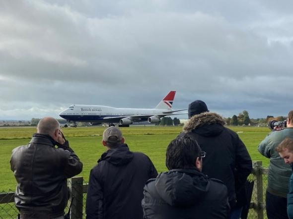 British Airways Boeing B 747 poslední let