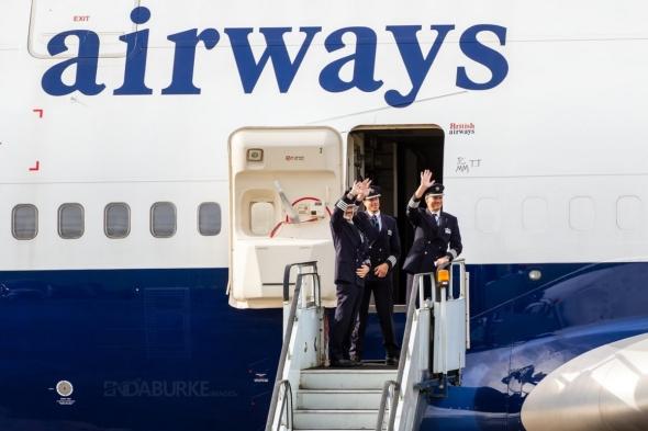 British Airways. Boeing B 747 po posledním přistání