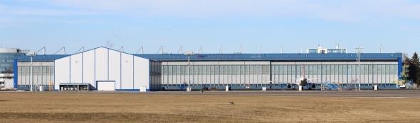 Czech Airlines Technics Hangars Prague Airport