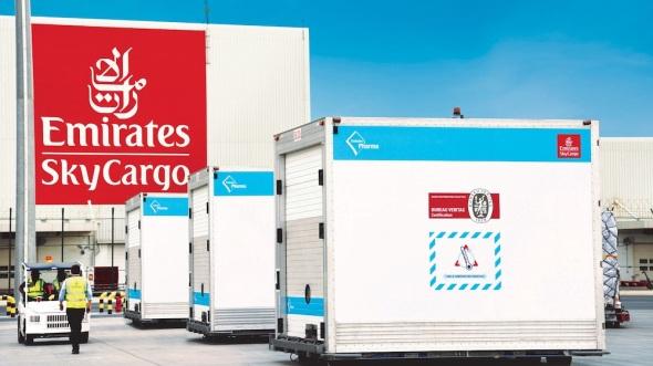 Emirates cargo kontejner