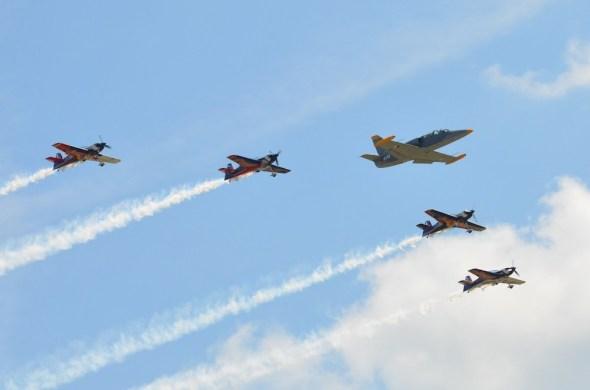 The Flying Bulls a Aero L 39
