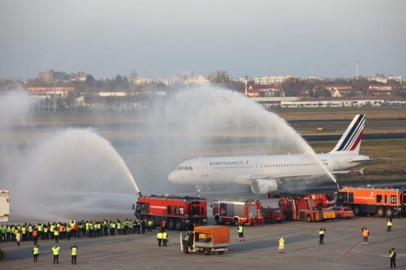 Airbus Air France Berlin Tegel
