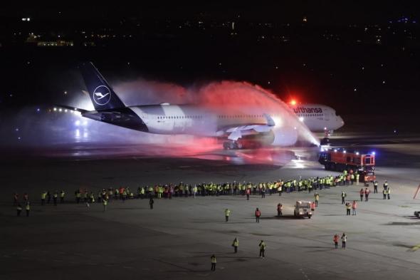 Berlín Tegel odlet Lufthansa