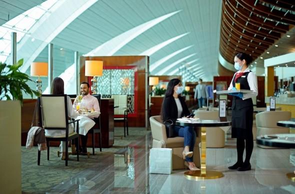 Emirates letištní salónky