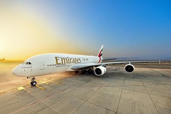 Airbus A380 A6-EVL Emirates