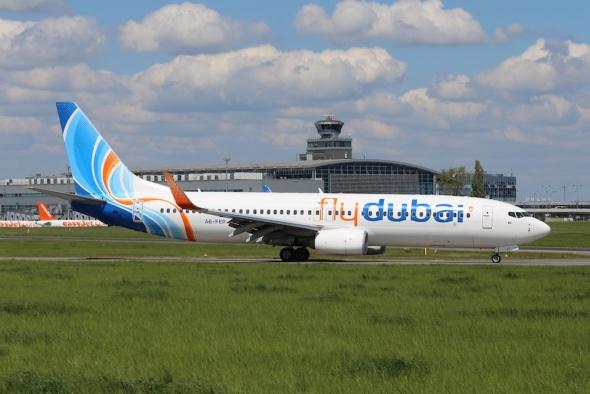 Letiště Praha Ruzyně flydubai Boeing B737
